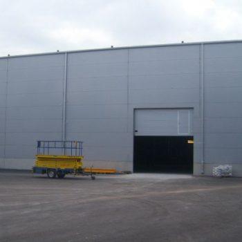 Tootmishoone ehitus Pärnus