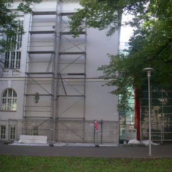 Partial renovation of the facade of Tallinn School No. 21