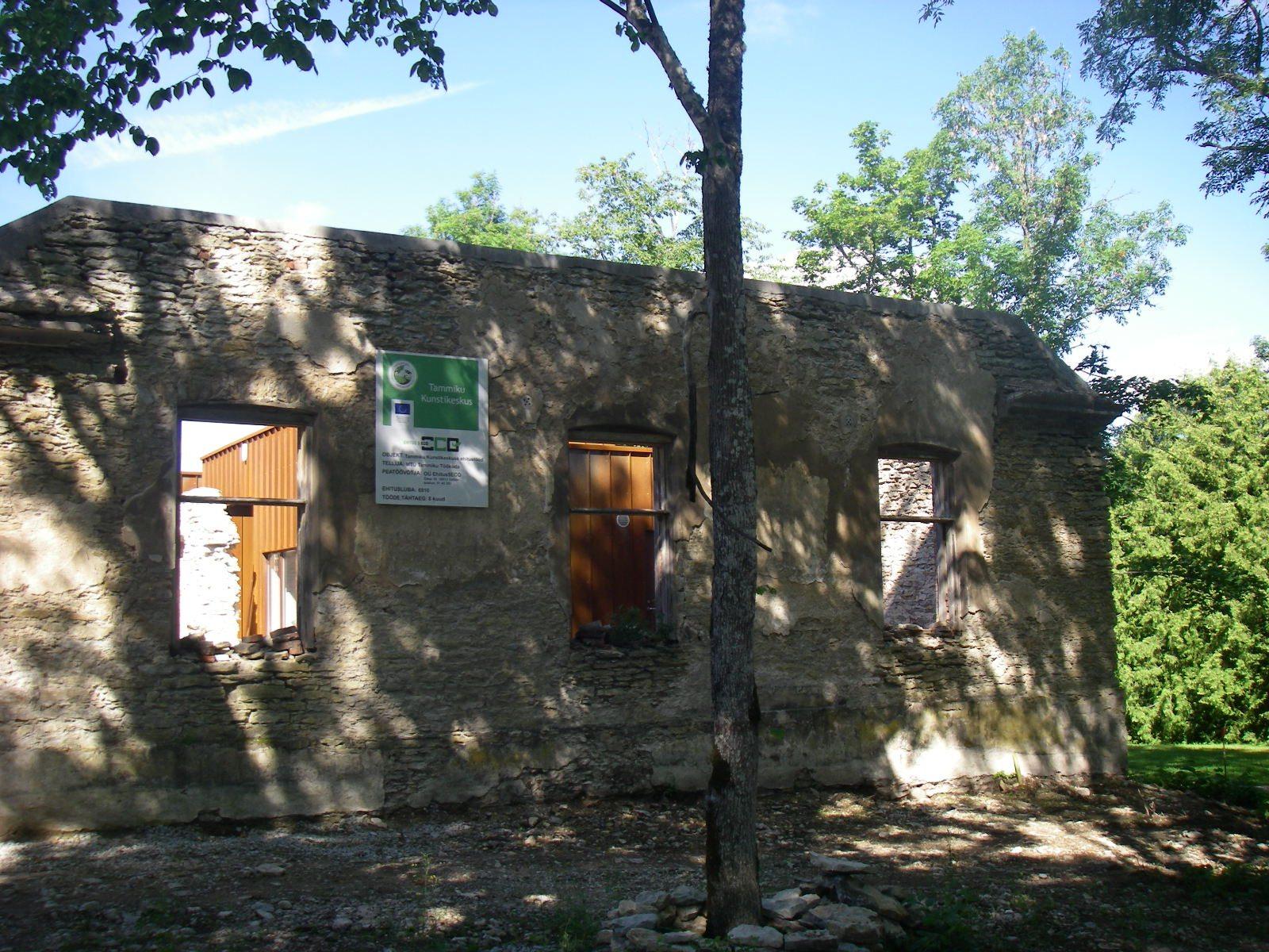 Construction of Tammiku Art Centre