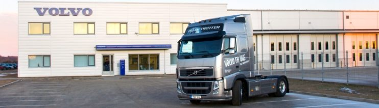 Renovation of Volvo Trucks Centre Estonia