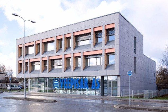 OÜ Eesti Optik ärihoone ehitustööd
